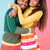 cheerful loving african young couple standing and embracing stock photo © deandrobot