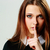 íntimo · retrato · belo · mulher · jovem · cabeça · ombros - foto stock © deandrobot