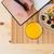 felső · kilátás · ízletes · egészséges · reggeli · palacsinták - stock fotó © deandrobot