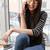 gelukkig · jonge · asian · vrouw · praten · telefoon - stockfoto © deandrobot