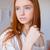 model · schilder · mooie · werk · ontwerp · home - stockfoto © deandrobot