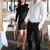 feliz · amoroso · casal · sessão · café - foto stock © deandrobot