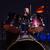 trommelaar · brand · skelet · spelen · drums · partij - stockfoto © deandrobot