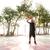 африканских · молодые · человека · прыжки · баскетбол - Сток-фото © deandrobot