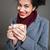 портрет · улыбаясь · молодые · африканских · женщину - Сток-фото © deandrobot