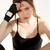 удивительный · молодые · серьезный · спортивных · женщину · Боксер - Сток-фото © deandrobot