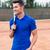 portrait · souriant · sport · joueur · haltères - photo stock © deandrobot