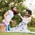 picknick · romantische · paar · voorjaar · natuur - stockfoto © deandrobot