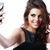 笑顔の女性 · 画像 · 携帯 · 携帯電話 · 孤立した - ストックフォト © deandrobot