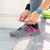 female hands tying shoelaces stock photo © deandrobot