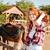 kadın · at · aşı · adam · iş - stok fotoğraf © deandrobot