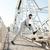 ストレッチング · 冷たい · アクティブ · 若い男 · ヘッドホン · 耳 - ストックフォト © deandrobot
