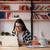 kreatív · nő · laptop · számítógép · iroda · üzletemberek · designer - stock fotó © deandrobot