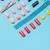 top · Ansicht · farbenreich · Zucker · Süßigkeiten · Zeile - stock foto © deandrobot