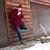 sigaret · sneeuw · winter · koud · niemand - stockfoto © deandrobot