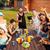 bière · jardin · amis · table · collations · arbre - photo stock © deandrobot
