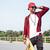 escuro · homem · óculos · de · sol · andar · de · skate - foto stock © deandrobot