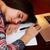 скучно · девушки · ноутбука · ноутбук · домой · люди - Сток-фото © deandrobot
