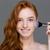 portret · vrouw · make-up · mode · ruimte · huid - stockfoto © deandrobot