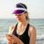 フィットネス · ランナー · 少女 · 音楽を聴く · ビーチ · リスニング - ストックフォト © deandrobot