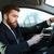 adam · telefon · sürücü · araba · taşımacılık · araç - stok fotoğraf © deandrobot