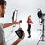 photographer shooting model in studio stock photo © deandrobot
