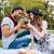 gelukkig · picknick · outdoor · jonge · romantische - stockfoto © deandrobot
