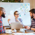 Business people preparing for presentation together  stock photo © deandrobot