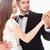 casamento · retrato · recém-casados · roxo · flores · cara - foto stock © deandrobot