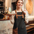 amazing young woman waiter standing in cafe stock photo © deandrobot