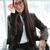 designer · szemüveg · sikeres · üzletasszony · portré · divat - stock fotó © deandrobot