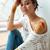 портрет · красивой · молодые · художник · инструмент - Сток-фото © deandrobot
