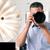 fotograf · Fotografia · kamery · przystojny · studio - zdjęcia stock © deandrobot