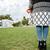 kobieta · portret · dziewczyna · zielona · trawa - zdjęcia stock © deandrobot