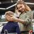 женщину · смартфон · супермаркета · продуктовых · торговых - Сток-фото © deandrobot