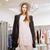 ruházat · bolt · pénz · terv · vásárlás · belső - stock fotó © deandrobot