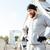 молодые · бородатый · спортивных · человека · Hat - Сток-фото © deandrobot