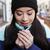 bevroren · mooie · vrouw · winter · kleding · buitenshuis · gezicht - stockfoto © deandrobot