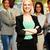 mujer · de · negocios · pie · gente · de · negocios · hermosa · grupo - foto stock © deandrobot