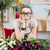 komik · yüzü · genç · kadın · yalıtılmış · beyaz · kadın - stok fotoğraf © deandrobot