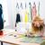 швейных · семинар · Кнопки · многие · цветами · ржавые - Сток-фото © deandrobot