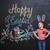 boldog · kicsi · fiú · iskolatábla · kréta · emberek - stock fotó © deandrobot