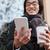 portre · gülen · genç · Asya · adam - stok fotoğraf © deandrobot