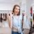 vrouw · dressing · etalagepop · store · business · werk - stockfoto © deandrobot