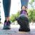 női · lábak · sétál · nyár · park · közelkép - stock fotó © deandrobot