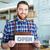 garçom · abrir · homem · restaurante · bar - foto stock © deandrobot