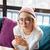若い女性 · 眼鏡 · 検索 · ビジネス · 少女 - ストックフォト © deandrobot