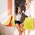 два · счастливым · женщины · кредитные · карты - Сток-фото © deandrobot