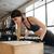jonge · vrouw · training · fitness · oefening - stockfoto © deandrobot
