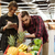 casal · compras · supermercado · mercearia · corredor · mulher - foto stock © deandrobot
